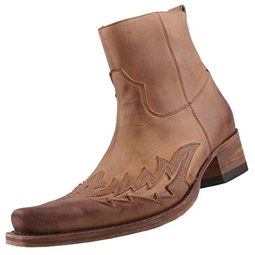Sendra heren laarzen 11783 bruin