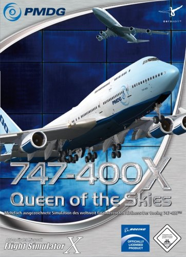 Flight Simulator X - PMDG-747-400X Queen of the Skies