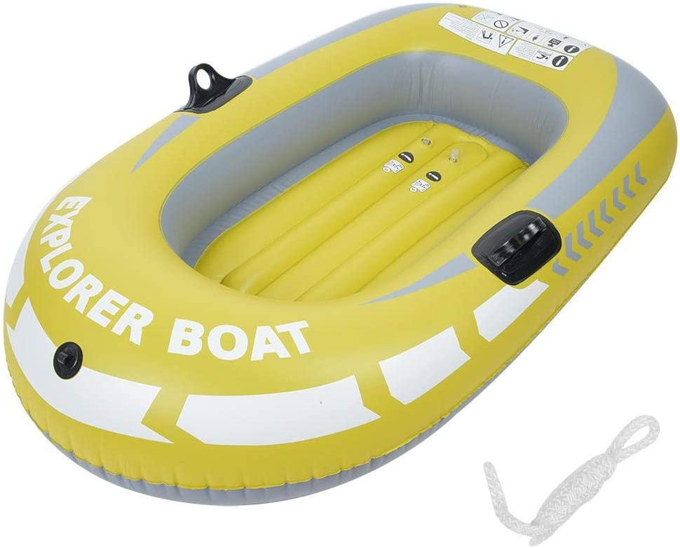 Inflatable Raft All items in the store Yellow PVC One Air Max 40% OFF Boa Rowing Person