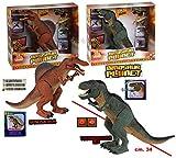 t-rex dinosauro jurassic spinosauro grande con azione luci e suoni cammina davvero -nuovo-italia (spinosauro)