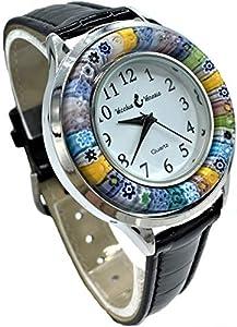 vinciprova Le Gemme de Venecia Reloj Watch de cristal de Murano Millefiori MURRINA