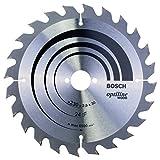Bosch Professional Lame de Scie Circulaire, 24 Dents, 30mm d'Alésage, 2.8mm Largeur de Coupe, 1.8mm Épaisseur du Corps, 230mm Diamètre, Gris, 2608640627, 230.0