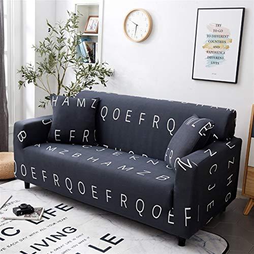 Fundas de sofá for la Sala Funda Calesa elástico Tela Escocesa de Ajustable en Forma de L Protector Universal Sofá seccional de la Cubierta (Color : Sofa Cover 23, Size : 1 Seater 90 140cm)