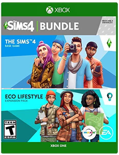 The Sims 4 Plus Eco Lifestyle Bundle - Xbox One