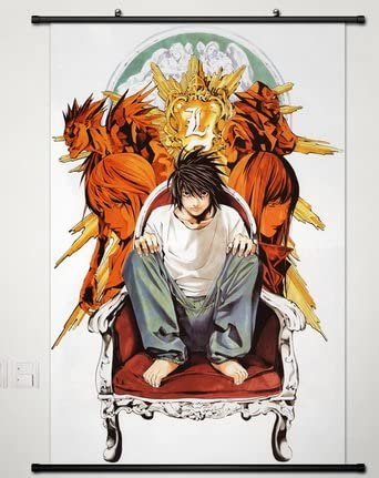 Death Note L Lawliet Anime Art Silk Poster 13x20 24x36 inch
