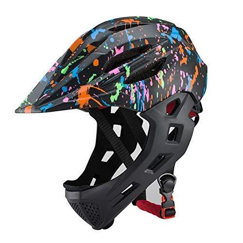Casco de bicicleta, la resistencia infantil Ciclismo Montar Cascos Kid LED casco...