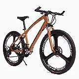 YXWJ Seguridad de los Vehículos 26 '' Marco de bicicleta de montaña de aluminio aluminio de la bicicleta MTB de la bicicleta for los hombres Mujer Suspensión Tenedor CST urbano de cercanías de la ciud