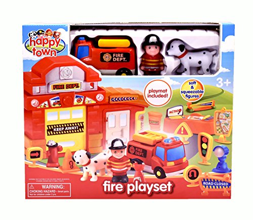 Happy Town 31119 Fire Playset