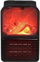 Kapokilly Ventilador De Aire Caliente, Calentador De Llama Hogar Pequeño Calentador Pequeño Dormitorio De La Oficina Calentador Multifunción Sin Control Remoto, 500W