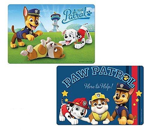 ENFANTS Paw Patrol 3d Set de table 42 x 28 cm