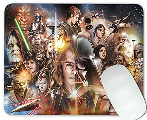 Star war Mouse pad Gaming Mouse pad Mousepad Nonslip Rubber Backing