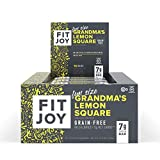 FitJoy Mini Protein Bars, Grandma's Lemon Square, Gluten Free, Grain Free, Low Carb, .67 Ounce, 16 Pack
