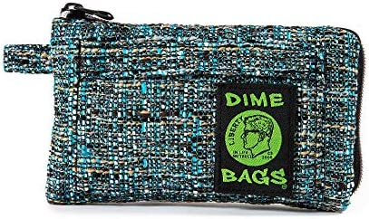 Dime Bags Padded Pouch with Soft Padded Interior Protective Hemp Pouch for Glass with Interior product image
