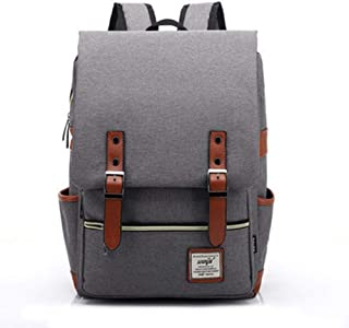 Fashion Vintage Laptop Backpack Women Canvas Bags, Men Oxford Travel Leisure Backpacks Retro Casual Bag School Bags For Teenager
