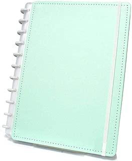 Caderno Grande Tons Pastéis Verde com 80 Folhas Caderno Inteligente