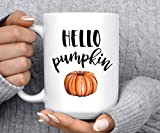 Coffee Mug | Hello Pumpkin | Autumn Mug | Pumpkin Mug | Fall Mug | Good Morning Pumpkin | Cute Mug | Halloween Mug