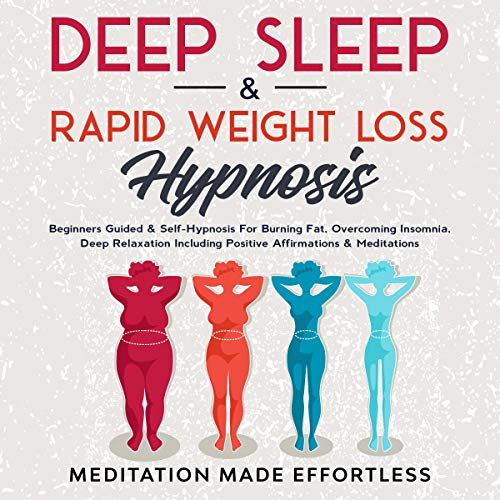 Deep Sleep & Rapid Weight Loss Hypnosis cover art