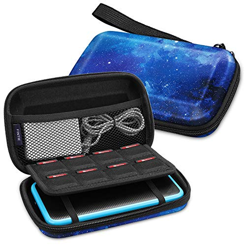 Fintie Carry Case for Nintendo 2DS XL/New 3DS XL LL, Protective Hard Shell Portable Travel Cover Pouch for New 3DS XL LL/New 2DS XL Console with Slots for Games & Inner Pocket (Starry Sky)