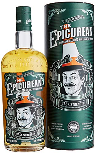 Douglas Laing The Epicurean GLASGOW CASK STRENGTH EDITION mit Geschenkverpackung Whisky (1 x 0.7 l)