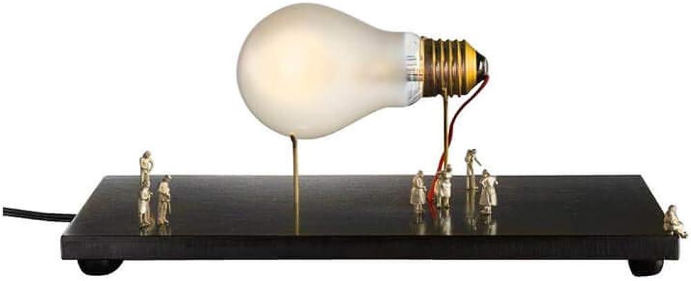 Ingo maurer i ricchi poveri monument for a bulb, lampada da tavolo, dimmerabile 220 volt 1914000
