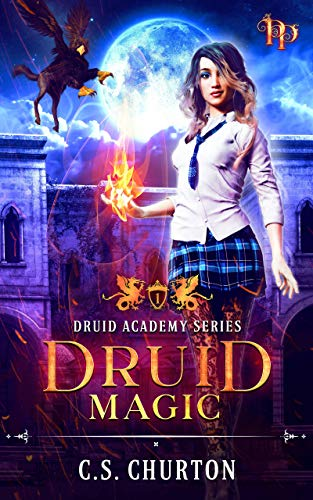 Druid Magic (Druid Academy Book 1) (English Edition)