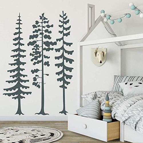 zqyjhkou Kinder Kindergarten Baum Schlafzimmer Dekoration Schönheit Nette Moderne Wandaufkleber Vinyl Kunstwand Für Kinderzimmer Mode Baum Poster L71x103cm