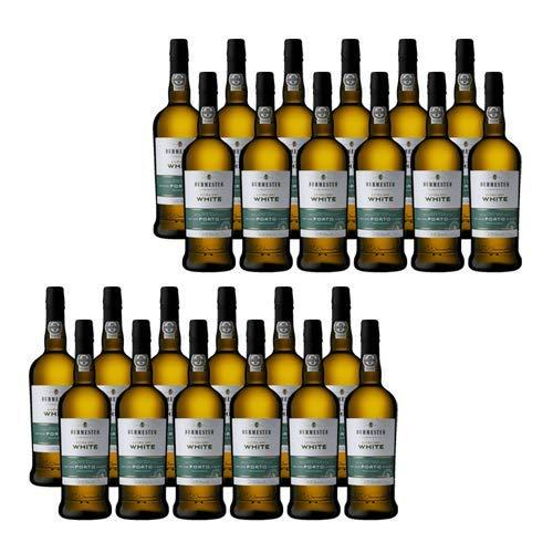Vino de Oporto Burmester Extra Dry White - Vino Fortificado- 24 Botellas