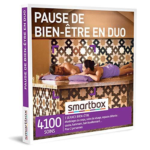 SMARTBOX - coffret cadeau fête des mères - Pause de bien-être en duo - idée cadeau originale - 1 séance bien-être pour 2 personnes