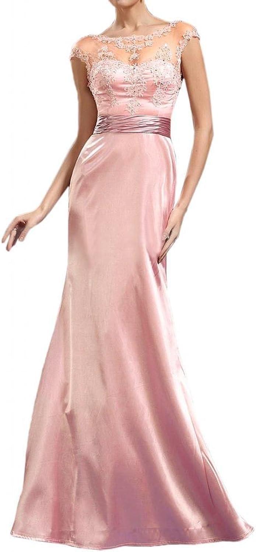Angel Bride Elegant Mermaid Open Back FloorLength Sleeves Evening Dresses