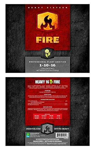 Heavy 16 Fire NPK .7-21-17.5, FIRE4L, 4 L