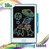NEWYES - Tablet LCD da 10 Pollici, Display Colorato, Blocco Note Elettronico per Bambini e...
