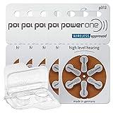 30x Power One 312 Hörgerätebatterien 5x6er...