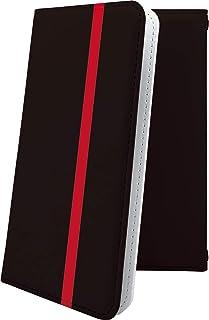 TORQUE G03 / G02 ケース 手帳型 レッド 赤 朱色 おしゃれ トルク ヘリーハンセン リミテッド 手帳型ケース かっこいい torqueg03 torqueg02 hellyhansen ボーダー マルチストライプ