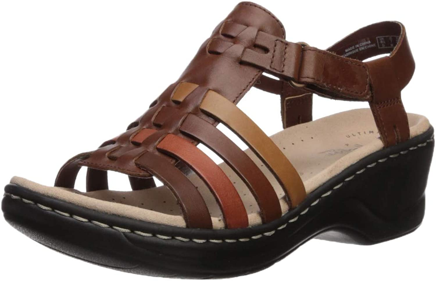 Clarks Womens Lexi Bridge Platform & Wedge Sandals
