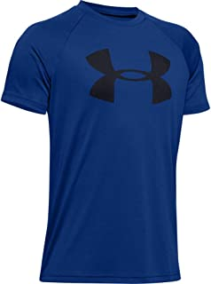 Under Armour Boy's Tech Big Logo Short Sleeve Top