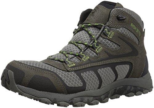 Irish Setter Men's Drifter 2814 Hiking Boot, grey/lime green, 10.5 D US