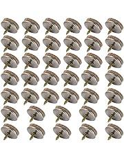 Meubilair Vilt Pads, 40 Stks Noise Canceling Meubilair Glijden Ideale Vloerbeschermers Meubelpads met Eenvoudige Schroefinstallatie (26 mm in diameter)