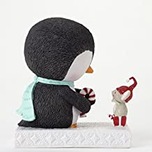 Enesco Stacy Yacula Penguin and Mouse Figurine, 4.875-Inch