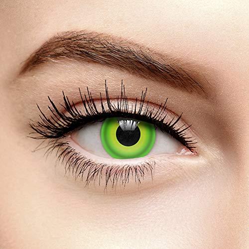 Chromaview Hulk Farbige Kontaktlinsen Ohne Stärke (30 Tage)