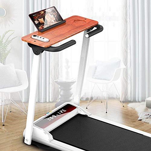 Yangsanjin Opvouwbare elektrische loopband, draagbare kleine LCD-monitor in de sportschool, ultra stil indoor fitnessapparaat, snelheid 1-10 km/h, zeer geschikte fitnessbeweging.