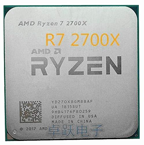 Ryzen 7 2700X CPU Processor 8Core 16Threads AM4 4.3GHz 16MB TDP 105W Cache 14nm DDR4 2667MHZ R7 2700X Desktop