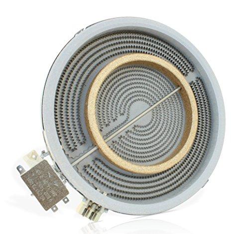 E.G.O 10.51211.004 HiLight Strahlungsheizkörper mit Ø210/120 mm und 2200/750 Watt EGO