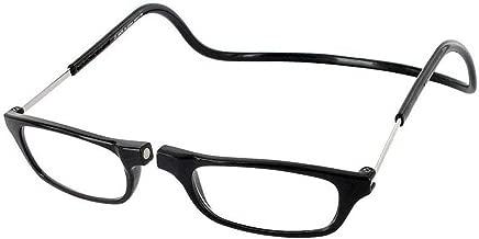 Clic Magnetic Regular Size Reading Glasses in Black