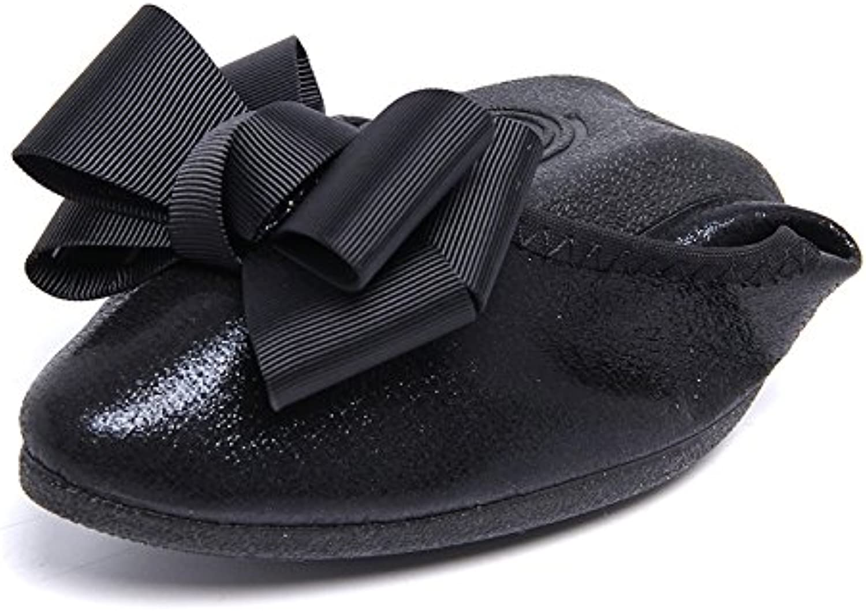 WHW Women shoes mesh upper gondola leisure shoes ,black,40 Pregnant Women