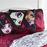Monster High Back to Ghoul Reversible Pillowcase - Standard Size by Mattel