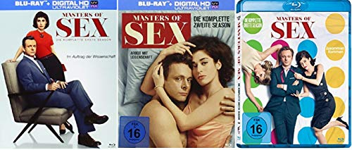Masters of Sex Staffel 1-3 (1+2+3, 1 bis 3) [Blu-ray Set]
