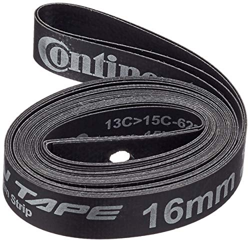 Continental Felgenband Easy Tape Hockdruck 15 Bar, Schwarz, 18 mm, 18-622, 0195070