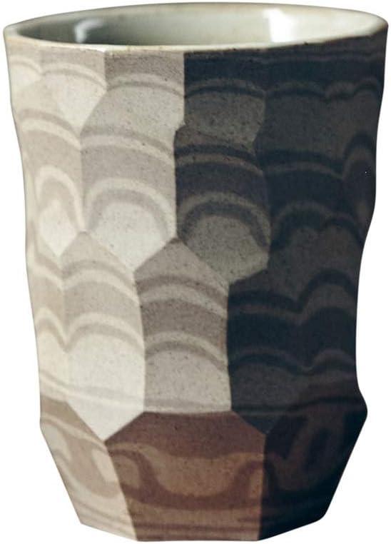Mug Irregular Carving Pattern Over item handling Tea Cup Max 82% OFF Ho Coffee Mugs Ceramic for
