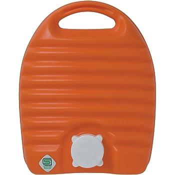 タンゲ化学工業 立つ湯たんぽ オレンジ 2.6L 袋付き TN00314