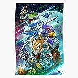 Badpakken Falco Mcloud Slippy Fox Peppy Star Geschenk für
